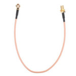 New              25CM SMA cable SMA Male Right Angle to SMA Female RF Coax Pigtail Cable Wire RG316 Connector Adapter