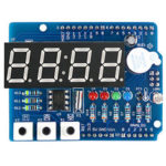 New              Clock Shield RTC DS1307 Module Multifunction Expansion Board with 4 Digit Display Light Sensor and Thermistor OPEN-SMART for Arduino – products that work with official Arduino boards