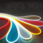 New              DC12V 5M Flexible Neon EL Wire Light SMD2835 Waterproof Silicone LED Strip Tube Lamp Outdoor Decoration