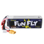 New              TATTU FUNFLY 14.8V 1800mAh 100C 4S Lipo Battery XT60 Plug for Cockroach V2 225mm Frame RC Drone