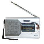 New              Mini Portable Pocket Stereo AM FM Telescopic Antenna Radio Speaker