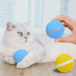 New              LED Pet Motion Ball Toys Flash Electric Activated Cat Dog Playing Waterproof