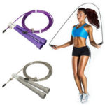 New              Cable Steel Speed Wire Skipping Adjustable Rope Skipping Fitness Sport Exercise Cardio Rope Jumping