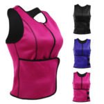 New              S/M/L/XL/2XL/3XL Sweat Sauna Body Shaper Women Slimming Vest Thermo Neoprene Waist Trainer Belt