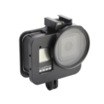 New              Aluminum Alloy Anti-shock Camera Protective Case Shell Frame for Gopro Hero 8