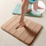 New              40 x 60cm/50 x 80cm Memory Foam Mat Absorbent Pad Non-slip Rugs Bathroom Shower Bath Mats Carpet Living Room