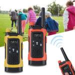 New              2Pcs Children Wireless Walkie Talkie Long Range Kid Set Electronic Toys