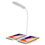 New              Bakeey 15W Qi Wireless Charger Induktive Ladegerät mit LED Nachtlicht Nachttischlampe H
