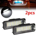 New              2PCS 18 LED License Number Plate Car Lights For VW Golf MK4 MK5 MK6  Passat Lupo Polo 9N