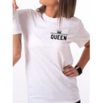 New              Simple Couple Short Sleeve Letter Print Causal T-Shirt