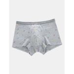 New              Men Cute Print Cotton Viscose Comfortable Boxer Briefs