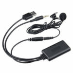 New              bluetooth 5.0 HIFI Audio Stereo Cable Adapter Aux USB RCA Hands-free With Microphone AUX Universal For Car Home