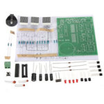 New              DIY Kit Module 9V-12V AT89C2051 6 Digital LED Electronic Clock Parts Components