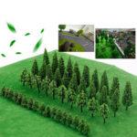 New              Trees Model Train Railway Railroad Wargame Diorama Scenery Landscape Decorations