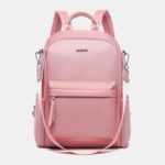 New              Women Anti-Theft Multifunctional USB Backpack Crossbody Bag