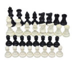 New              32 Piece Game Chess Foldable 9.5/7.5/6.4cm King Knight Set Outdoor Recreation Kids Family Traveling Camping Game