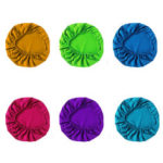 New              4Pcs Dental Chair Cover Seat Protector Washable Elastic Cotton