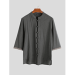 New              Men's Chinese Style 100% Cotton Shirts
