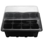 New              12 Cell Plug Propagation Tray Planting Seed Cloning Insert Clone Grow Box Kit