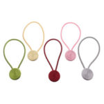 New              2Pcs Magnetic Ball Window Curtain Buckle Holder Tieback Tie Backs Clips