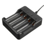 New              DC 4.2V 1200mA Smart Charger 4 Slots Fast Charging For 18650 Li-ion Battery
