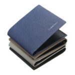 New              Simple Fashion PU Leather Mens Wallet Pockets Credit Card Holder Safe Money ID Card Case