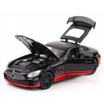 New              1:32 Alloy Metal Car with Light Diecast Model Toy for Children Gift
