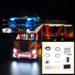 New              LED Light Lighting Kit ONLY For LEGO 42098 Motor Vehicle Building Bricks Toys