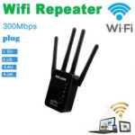 New              PIXLINK WR16 300Mbps 2.4GHz Hot Wifi Repeater Wireless Four Antenna Router Range Extender Signal Booster