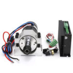 New              48V 500W Brushless Spindle DC Motor + WS55-220S Brushless Spindle Driver + Spindle Fixture Kit