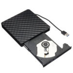 New              External USB3.0 DVD RW CD Writer Slim Optical Drive Burner Reader Player For PC Laptop