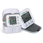 New              LCD Display Automatic Upper Arm Blood Pressure Monitor Pulse Digital BP Wrist Cuff Machine Heart Rate Meter With Live Voice