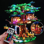 New              DIY LED Light Lighting Kit ONLY For Lego 21318 Ideas Treehouse Bricks Toys W/Remote
