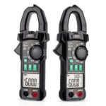 New              FUYI FY219 Double Display AC/DC True RMS Digital Clamp Meter Portable Multimeter Voltage Current Meter Inrush Current V.F.C  Frequency Conversion Low Impedance Voltage Measurement