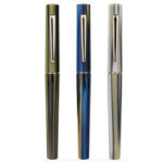 New              Moonman N3 Acrylic Stripes Fountain Pen EF/F 0.38mm 0.5mm Nib Office Writing Pen Signing Gift Set