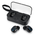 New              T18S TWS Wireless Earbuds bluetooth 5.0 Earphone Mini Portable Stereo Headphone with Mic for iPhone Xiaomi Huawei