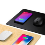 New              JAKCOM MC2 2in1 10W Dual Coils Qi Quick Charge Waterproof Anti-Slip Smart 15 inch Wireless Charger Mouse Pad for iPhone 11 Pro Max for Samsung S10+ HUAWEI Xiaomi Redmi