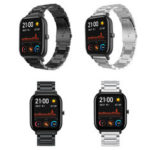 New              Bakeey Stainless Steel Watch Band Replacement Watch Strap for AMAZFIT GTS