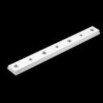 New              Aluminium Alloy 200mm T Slot Nut T-Bar Slider T-Track Sliding Nut Woodworking Tool
