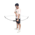 New              6 Arrow 40lbs Left/Right Hand Double Arrow Archery Training Recurve Bow Stand