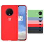 New              For OnePlus 7T Case Bakeey Original Logo Ultra-Thin Anti-Scratch Silicone Soft Protective Case