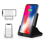 New              10W Qi Wireless Charger Fast Charging Desktop Phone Holder For Qi-enabled Smart Phone for iPhone 11 for Samsung Galaxy Note 10+ Xiaomi MI 9