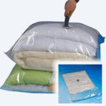 New              100x80cm Large Space Saver Vacuum Seal Storage Packing Bag for clothes Pillows Throws Seasonal Bedding