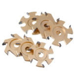 New              75/85/90/100mm Wood Carving Cutter Disc Blade Teeth Power for 16mm Angle Grinder Milling Tool