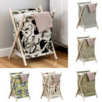 New              Laundry Folding Basket Clothes Washing Bag Household Folding Dirty Clothes Storage Baskets