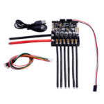 New              Dual FSESC6.6 Based upon VESC6 With Aluminum Heatsink Mini Size For RC Car Parts