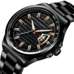 New              CURREN 8375 Business Style Luminous Display Men Wrist Watch
