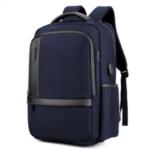 New              2019 18.0 inch USB Charging Backpack Large Capacity Waterproof Men Travel Laptop Bag