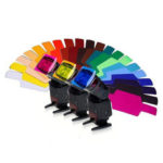 New              20 in 1 Universal Color Gels Filter Card Paper for Photography Speedlite Flash LED Video Light
