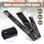 New              15/20/25cm Multifunctional PCB Ruler Measuring Tool for Electrical Engineers